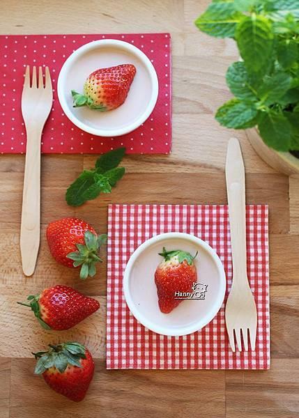 2014 0209 草莓義式鮮奶酪