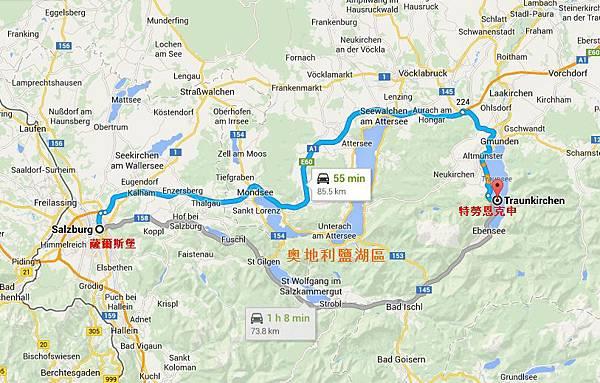 Map: Sbg-Traunk.