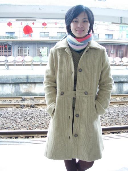 等火車的空檔~
