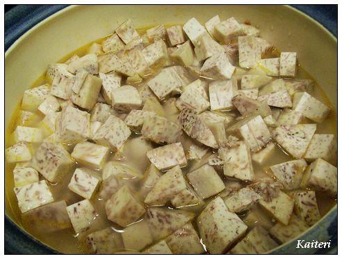 豆豉排骨芋頭煲