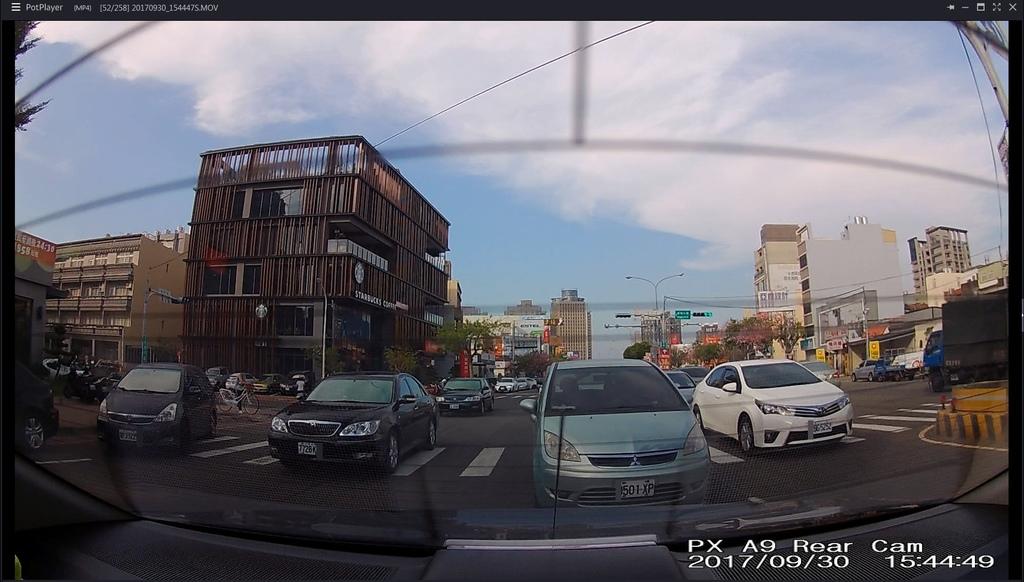 A9-白天市區(後鏡頭)