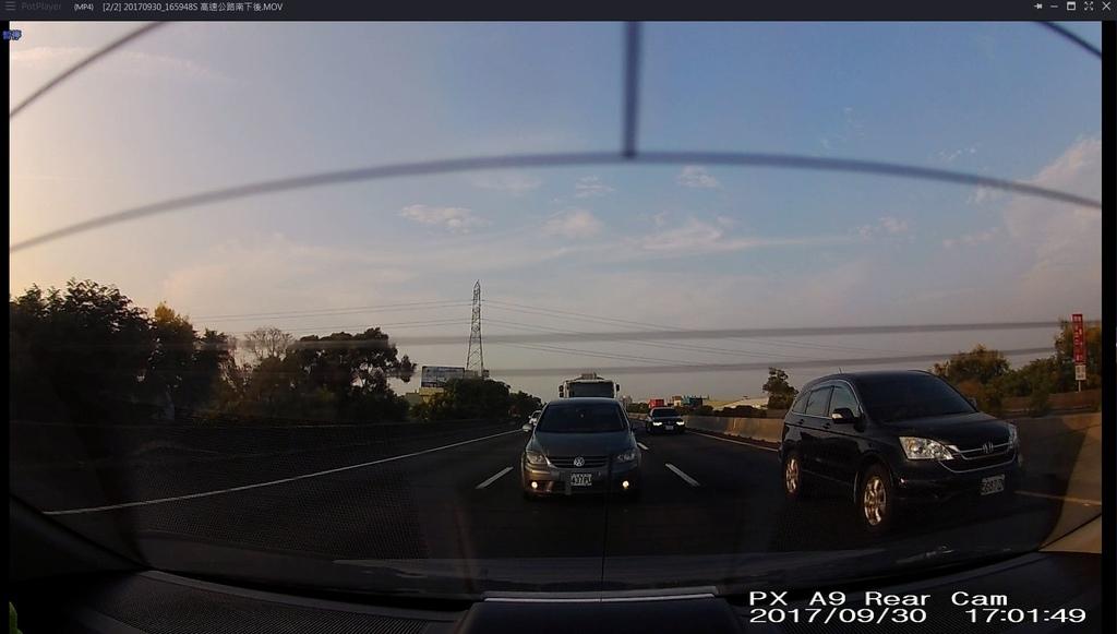 A9-高速公路(後鏡頭)