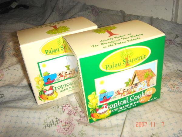 帛琉手工餅乾