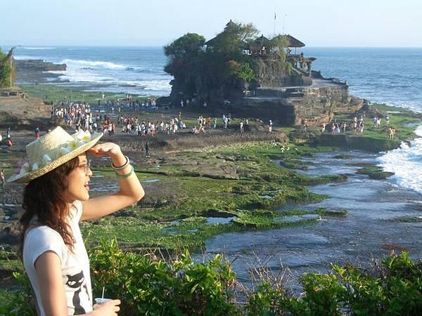 眺望海神廟