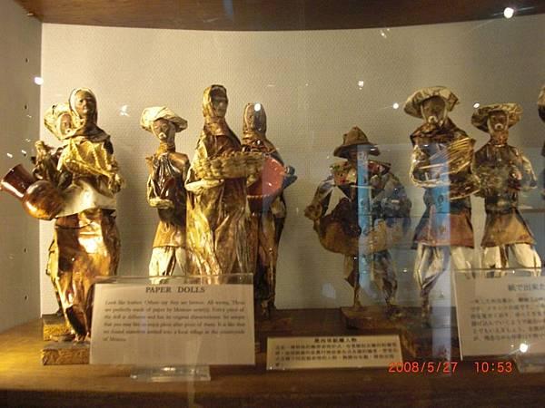 墨西哥紙雕人物