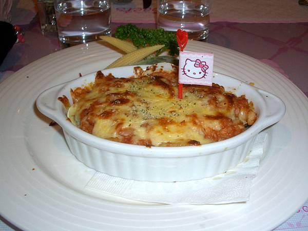 海鮮焗飯&牛肉千層麵