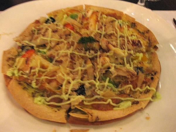 和風魷魚燒pizza