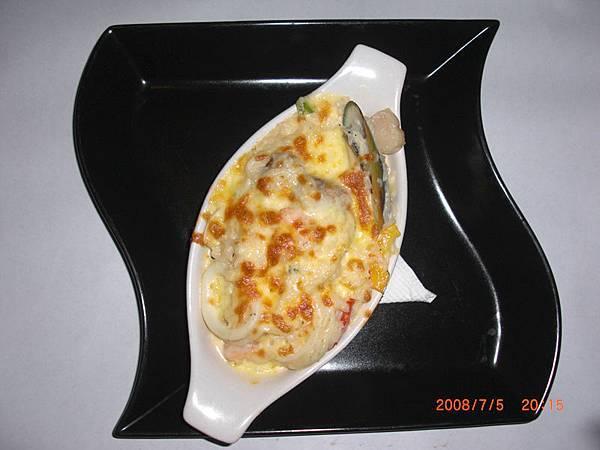 香烤海鮮奶油飯