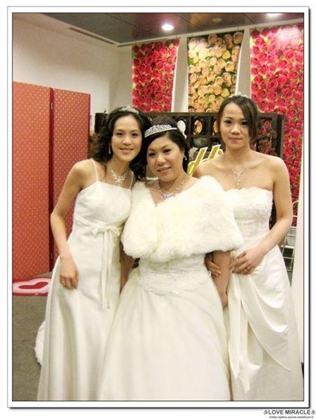 美美的新娘與伴娘