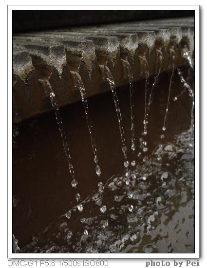 水流-沒有洗出來的自選相片3~想山寨版老師拍的水流~不過想當然我拍的這張是沒技巧到家了啦!!