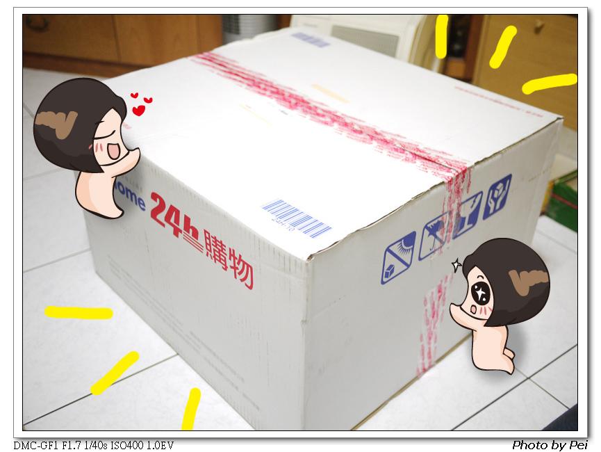 超級大一箱~跟批西鬨買東西以來最大的一箱!!