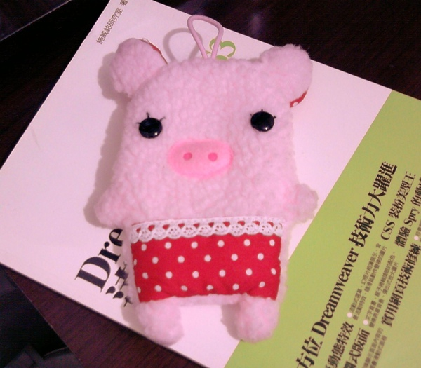 小豬手機袋