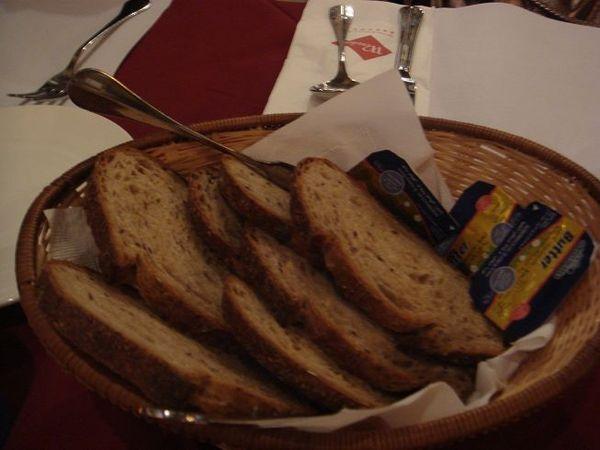 前菜的麵包