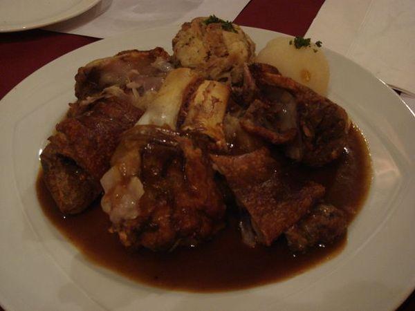 主菜-德國豬腳