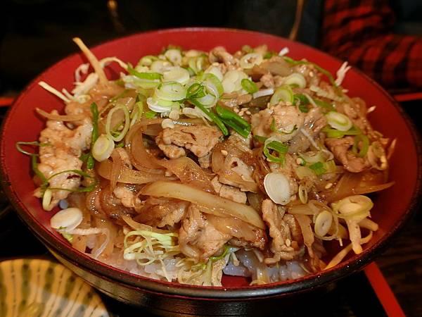 生薑燒肉丼
