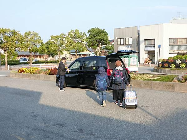 行李也可以上車