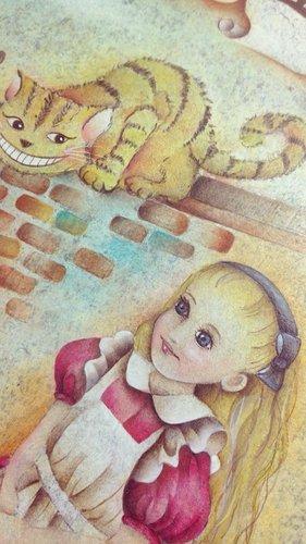 愛麗絲和白兔的春天