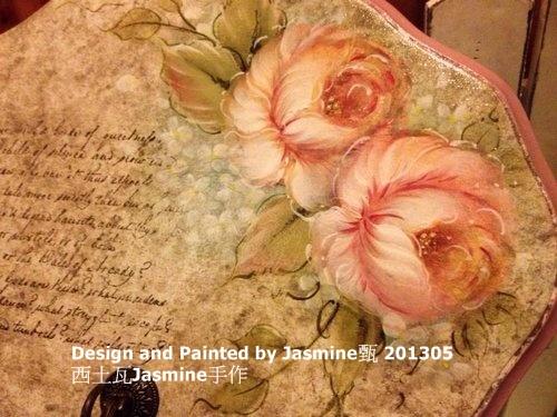 法式油彩玫瑰