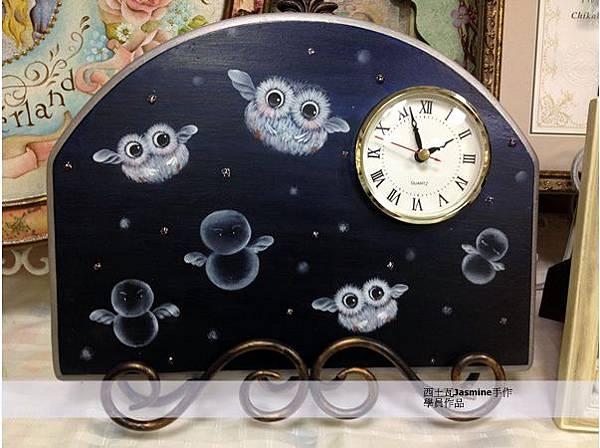 木田弘美畫風 可愛的貓頭鷹