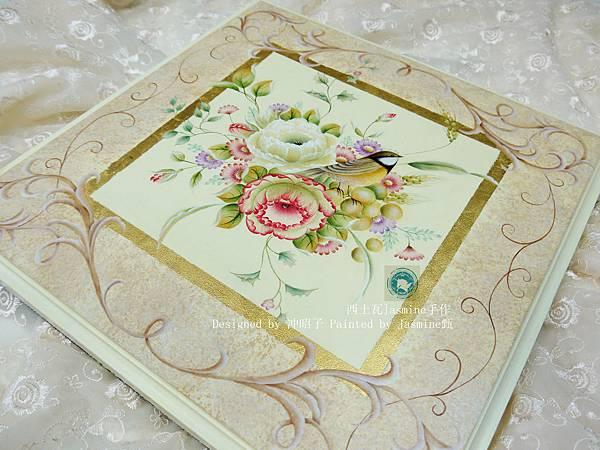 木器彩繪 ☆ 日式花卉彩繪 -  花 鳥  ☆