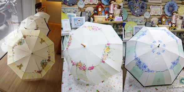 彩繪拼貼初階  維多利亞洋傘創作