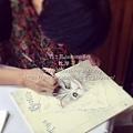 木器彩繪課程 精緻純手繪 ☆ 寶貝貓 ☆ 相簿本 ↑學員作品  繪者 : Min 課程洽詢和預約上課方式  小甄老師0937682587
