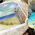 風景-2 海洋系列/補色/暈色   海浪.沙灘.礁岩彩繪技法