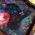 木器彩繪 黑天鵝2 西土瓦