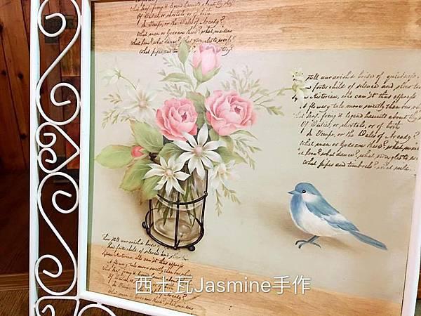 木器彩繪 神岡浩子油彩外師研習課程紀錄