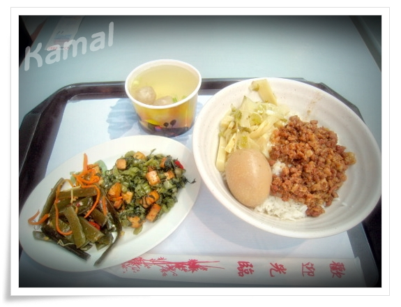 機場內的餐點