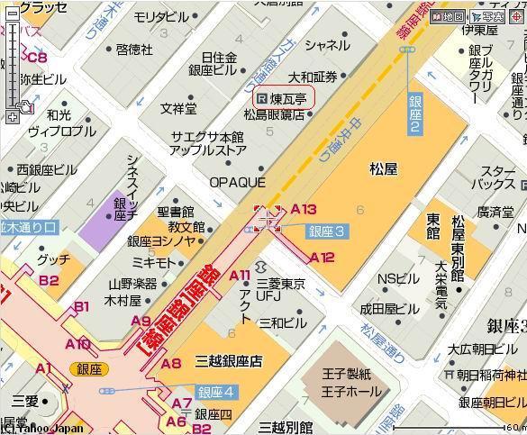 煉瓦亭地圖