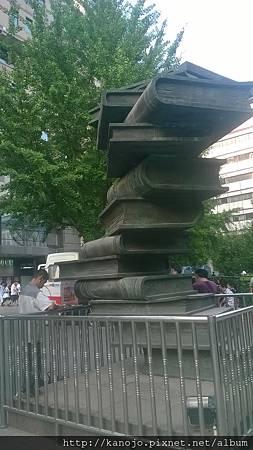 北京圖書大廈前