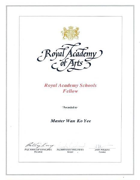 英國皇家藝術學院的Fellow證書.jpg