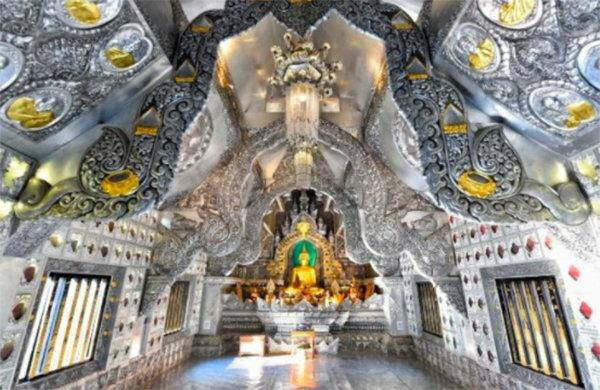 玩轉泰國領略泰北大自然風光:銀佛殿