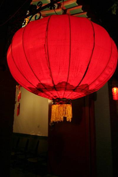 大紅燈籠高高掛