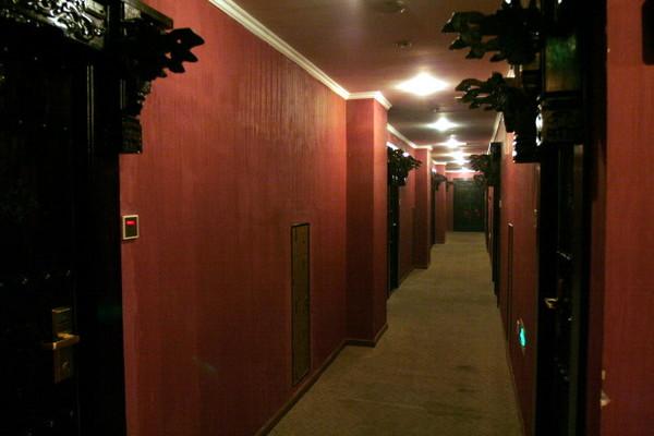 古色古香的走廊