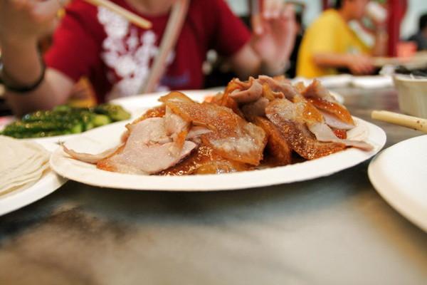 烤鴨套餐(含餅皮,蔥,醬,湯)