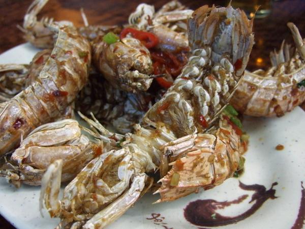 鹽酥瀨尿蝦