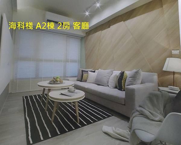海科棧 A2棟 2房 客廳