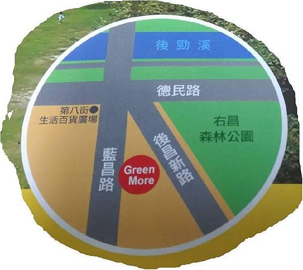 Green More 地理位置圖