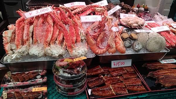 日本黑門市場帝王蟹