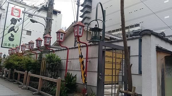 日本街道的不同