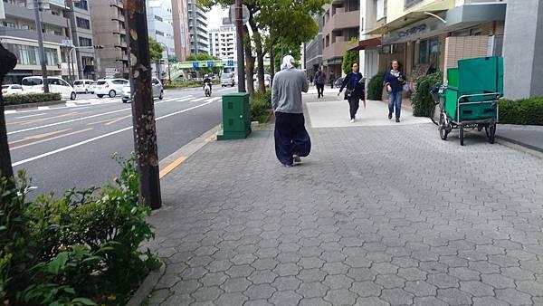 日本穿著工作服的師傅
