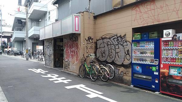 不缺販賣機的日本街道