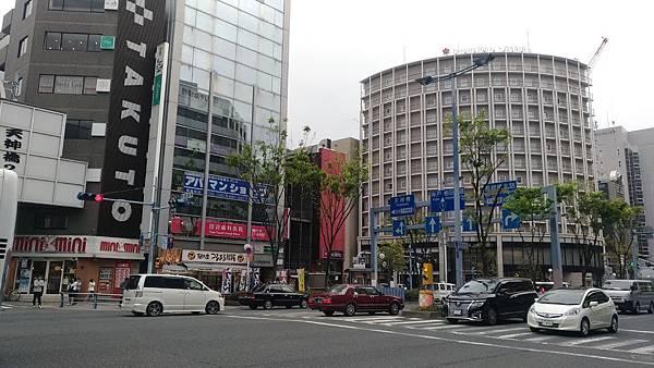 日本整齊又乾淨的路口