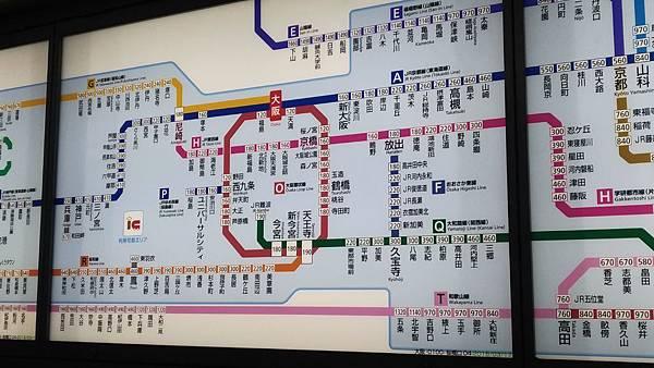 日本電車路線圖介紹