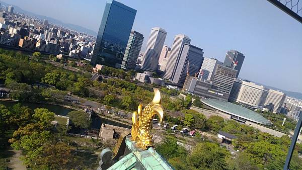 大阪城-黃金