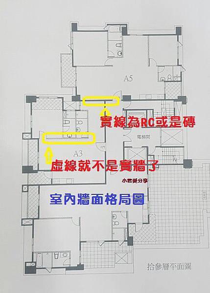 室內牆面格局圖