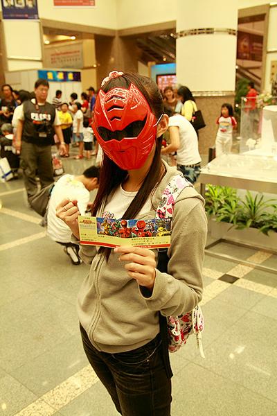 獸拳戰隊抵達台灣哩!