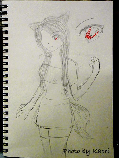 小狐狸鬼怪設計稿